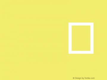 IS Sans Serif Version 001.000图片样张