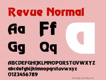 Revue Cyrillic 1.0 Thu May 27 21:10:21 1993图片样张