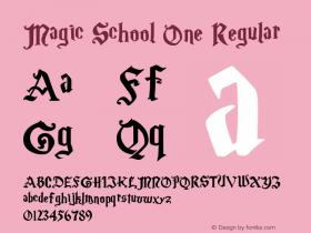Magic School One 5/30/2004图片样张