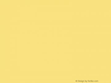 文鼎雕刻体 CoolType Version 1.0 Font Sample