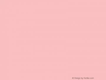 文鼎行楷碑体 CoolType Version 1.0图片样张