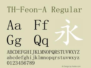 TH-Feon-A V2.0.2/U10.0/170113图片样张