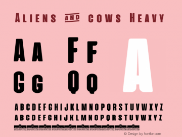 Aliens & cows Heavy Version 2.010图片样张