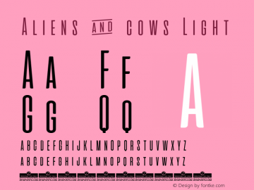 Aliens & cows Light Version 2.010图片样张
