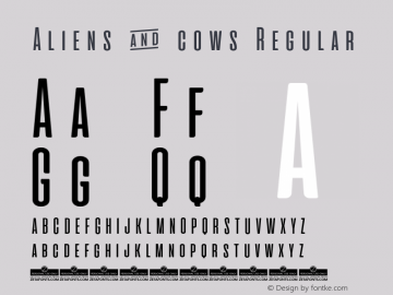 Aliens & cows Version 2.010图片样张