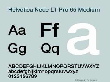 HelveticaNeueLTPro-Md Version 1.500;PS 001.005;hotconv 1.0.38图片样张