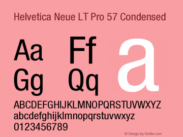 HelveticaNeueLTPro-Cn Version 1.500;PS 001.005;hotconv 1.0.38图片样张