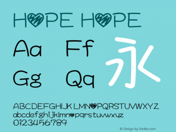 HOPE HOPE图片样张