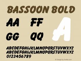 Bassoon Bold v1.0c图片样张