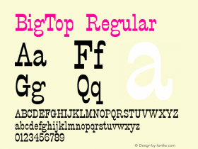 BigTop v1.00图片样张