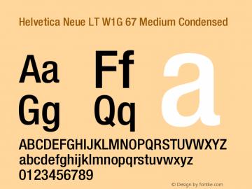 HelveticaNeueLTW1G-MdCn Version 1.100;PS 001.001;hotconv 1.0.38图片样张