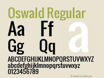 Oswald Version 2.000图片样张
