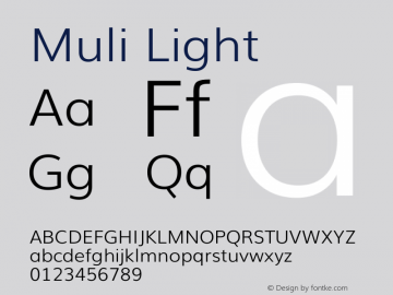 Muli Light Version 2图片样张