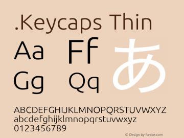 .Keycaps Thin 10.5d23e8图片样张