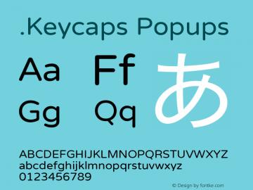 .Keycaps Popups 10.5d23e8图片样张