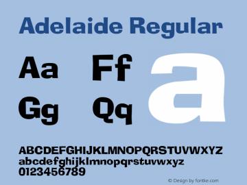 Adelaide v1.0c图片样张