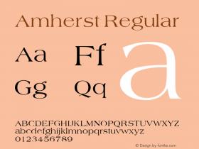 Amherst v1.0c图片样张