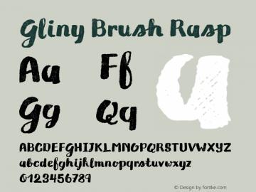 Gliny Brush Rasp Version 1.000图片样张