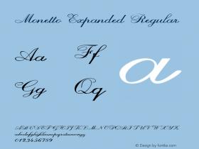Monetto-ExpandedRegular Version 1.000图片样张