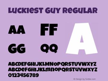 Luckiest Guy Version 1.0 Extracted by ASV http://www.buraks.com/asv图片样张