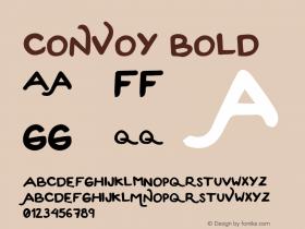 Convoy Bold Version 1.0图片样张