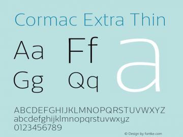 Cormac-ExtraThin 1.000图片样张