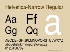 Nimbus Sans L Regular Condensed 001.005图片样张