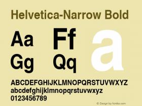 Nimbus Sans L Bold Condensed 001.005图片样张