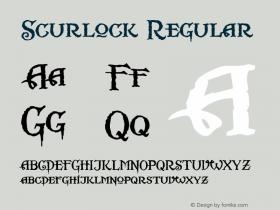Scurlock Altsys Fontographer 4.0.3 7/7/99图片样张