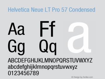 HelveticaNeueLTPro-Cn Version 1.000;PS 001.000;Core 1.0.38图片样张