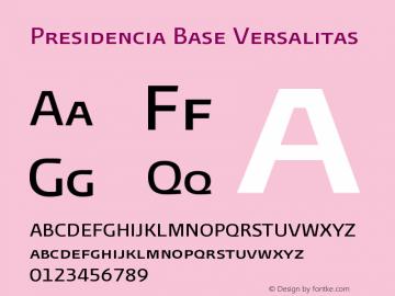 PresidenciaBaseVersalitas Version 001.000图片样张