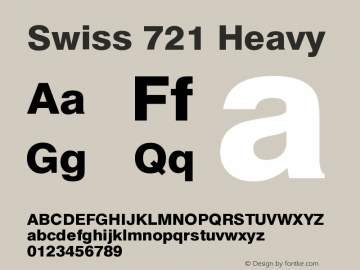 Swiss 721 Heavy Version 003.001图片样张