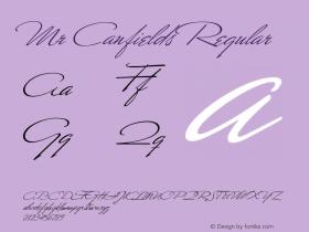 MrCanfields OTF 1.0;PS 001.000;Core 116;AOCW 1.0 161图片样张