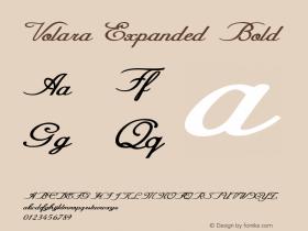 Volara-ExpandedBold Version 1.000图片样张