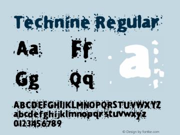 Technine Macromedia Fontographer 4.1.2 7/7/97图片样张