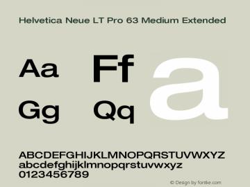 HelveticaNeueLTPro-MdEx Version 1.300;PS 001.003;hotconv 1.0.38图片样张
