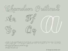 Chameleon Outline2 Version 2.000图片样张