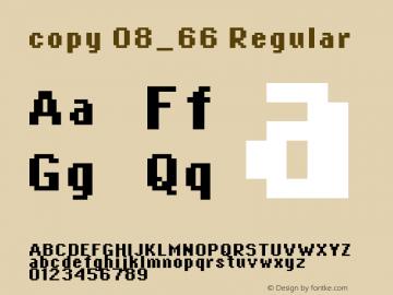 copy 08_66 Macromedia Fontographer 4.1.4 12/31/01图片样张