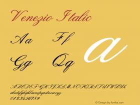 Venezio-Italic Version 1.000图片样张