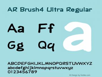 AR Brush4 Ultra Version 2.001;PS 001.001;hotconv 1.0.38图片样张