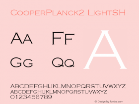 CooperPlanck2 LightSH SoHo 1.0 9/30/93图片样张