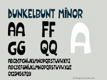 Dunkelbunt Minor Version 001.000图片样张