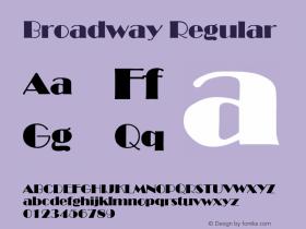 Broadway B & P Graphics Ltd.:1.7.1993图片样张