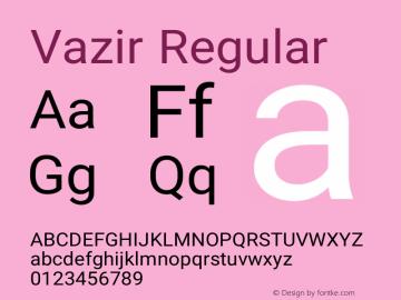 Vazir Version 9-beta图片样张