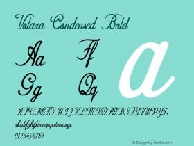 Volara-CondensedBold Version 1.000图片样张