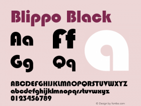 Blippo Black Version 003.001图片样张