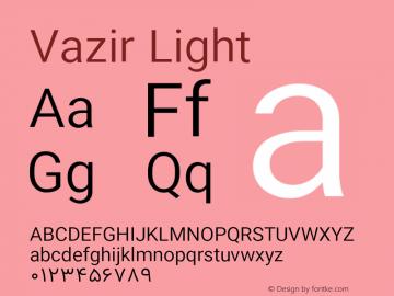 Vazir Light Version 10.0.0-alpha图片样张