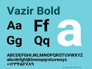 Vazir Bold Version 10.0.0-beta图片样张