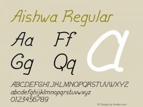 Aishwa Version 1.000图片样张