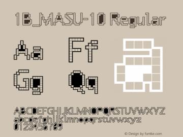 1B_MASU-10 1.0W图片样张
